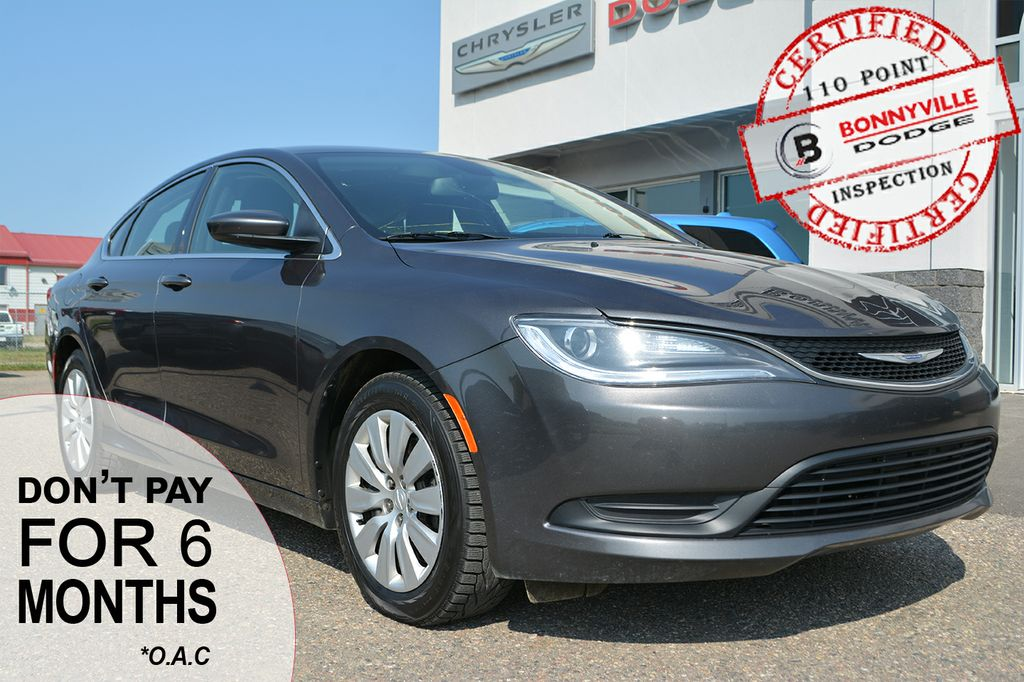 Pre Owned 2015 Chrysler 200 Lx 95000 Kms Great Commuter Car 4