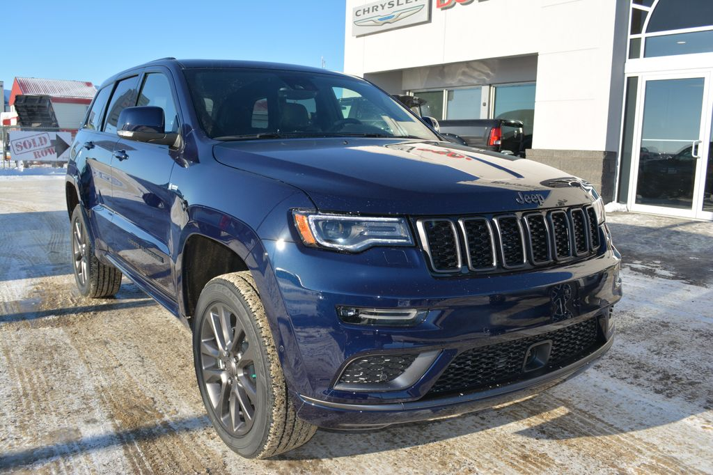 new 2018 jeep grand cherokee grand cherokee overland 4. Black Bedroom Furniture Sets. Home Design Ideas