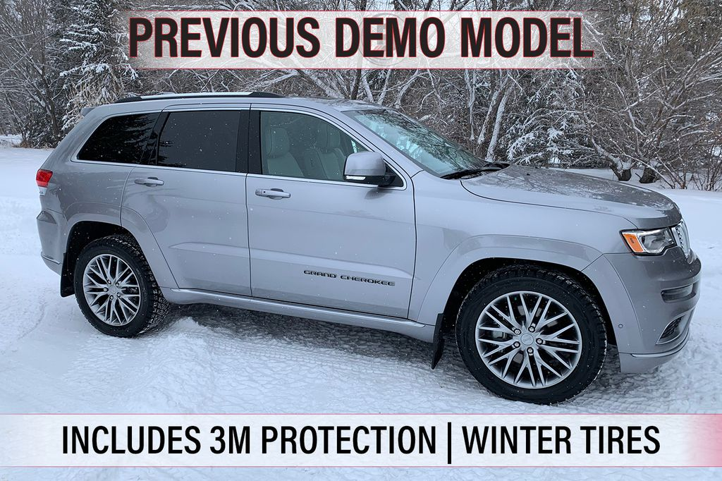 Pre-Owned 2018 Jeep Grand Cherokee SUMMIT- PREVIOUS DEMO, UNDER 6,000 KMS, SAVE OVER $16,000