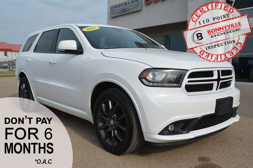Pre-Owned 2017 Dodge Durango R/T- LEATHER, REMOTE START, NAVIGATION, BACKUP CAMERA