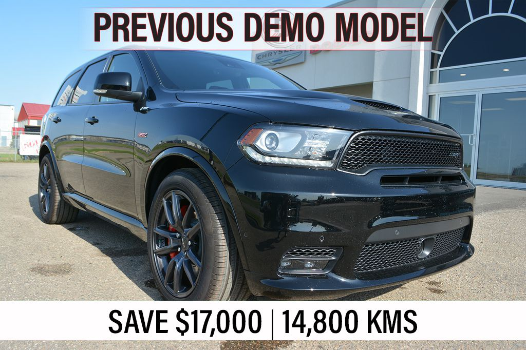 Pre-Owned 2018 Dodge Durango SRT- PREVIOUS DEMO, SAVE $17,000, Incl. 3M & WEATHER TECH MATS