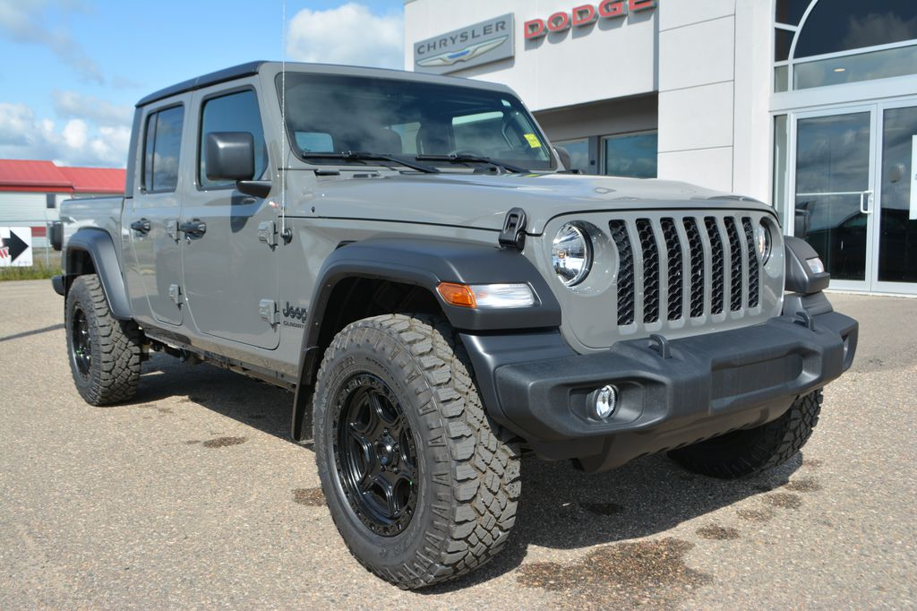 New 2020 Jeep Gladiator SPORT S- INCL. KMC XD139 PORTAL WHEELS, GOODYEAR DURATRAC TIRE, UNDERCOAT