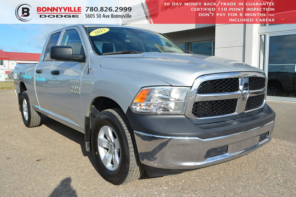 Pre-Owned 2017 Ram 1500 ST- 6 Passenger, Only 30,000 kms