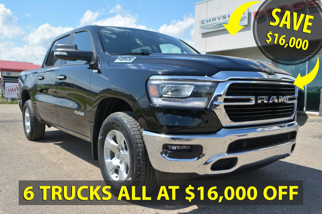 New 2019 Ram 1500 Big Horn 4x4 Crew- SAVE $16,000