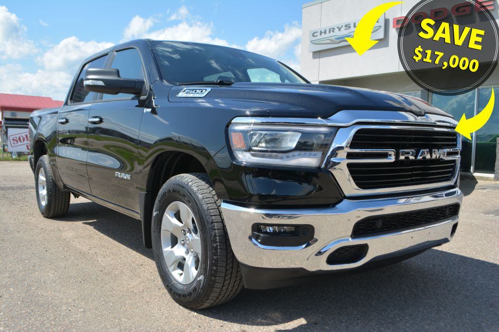 New 2019 Ram 1500 Big Horn 4x4 Crew- SAVE $17,000