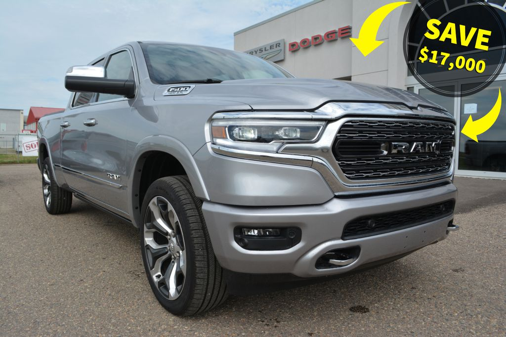 New 2019 Ram 1500 LIMITED CREW- SAVE $17,000