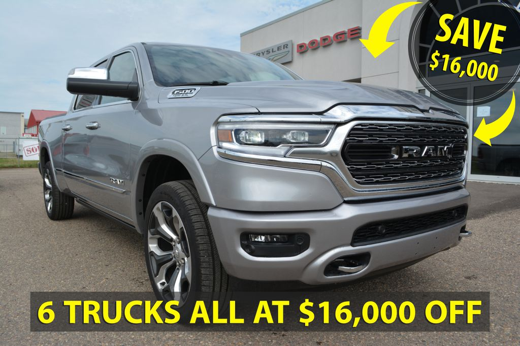 New 2019 Ram 1500 LIMITED CREW- SAVE $16,000