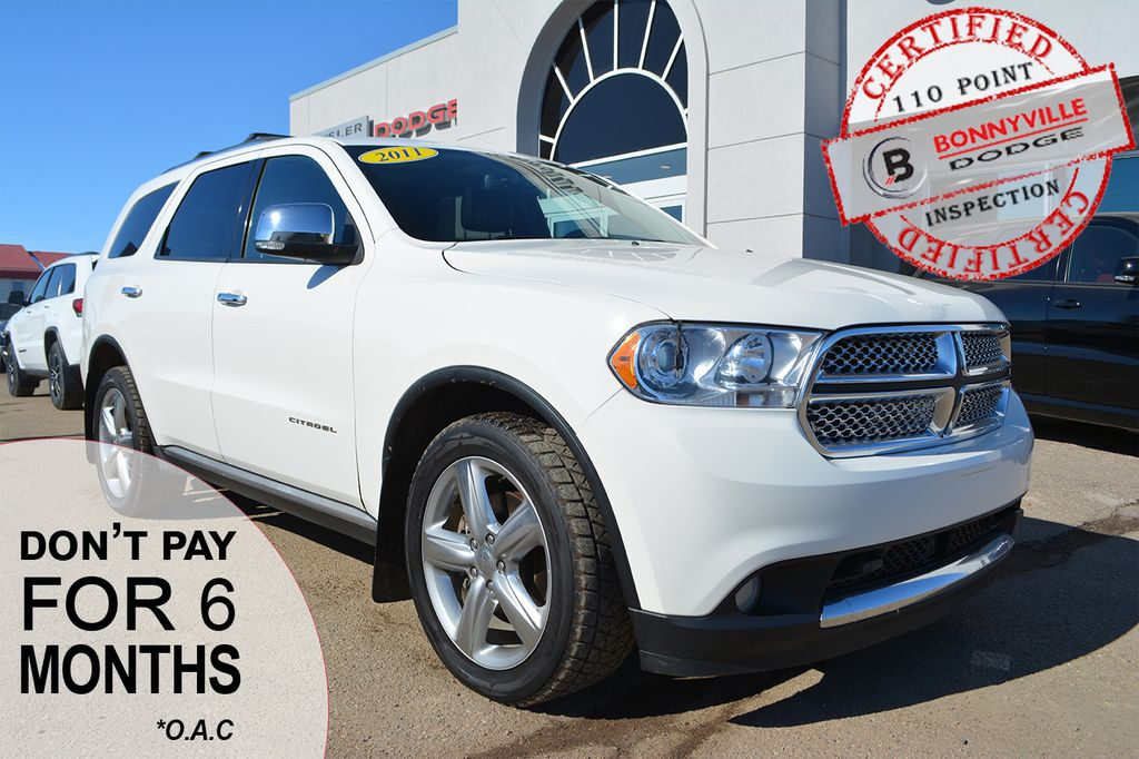 Pre-Owned 2011 Dodge Durango CITADEL- LEATHER, SUNROOF, BACKUP CAMERA