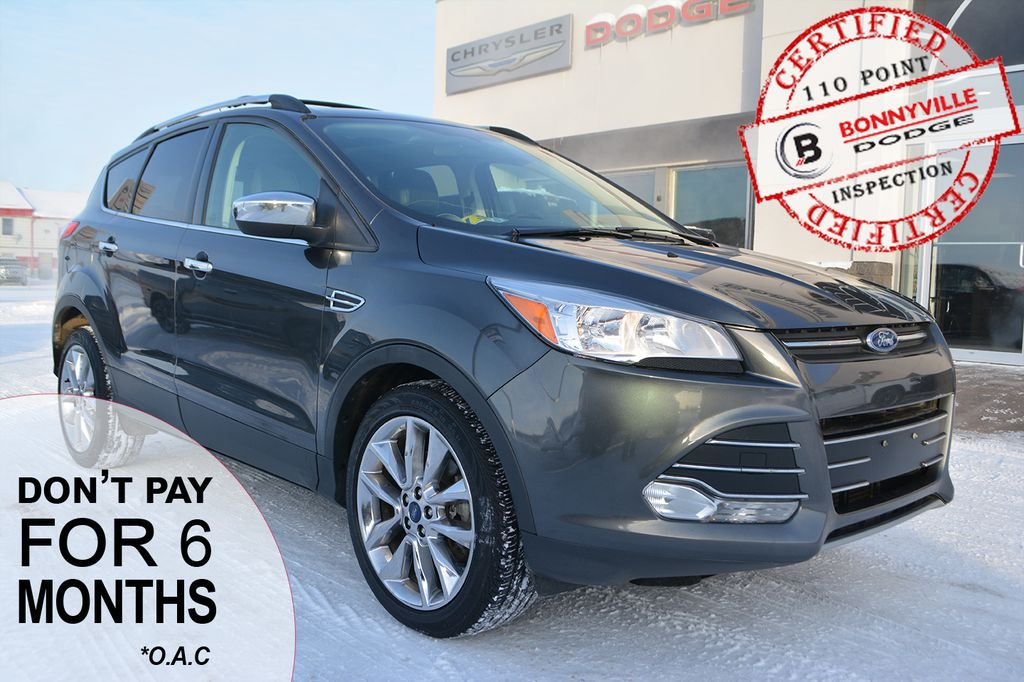 Pre-Owned 2015 Ford Escape SE- UNDER 72,000 KMS, GOOD CONDITION, SUNROOF