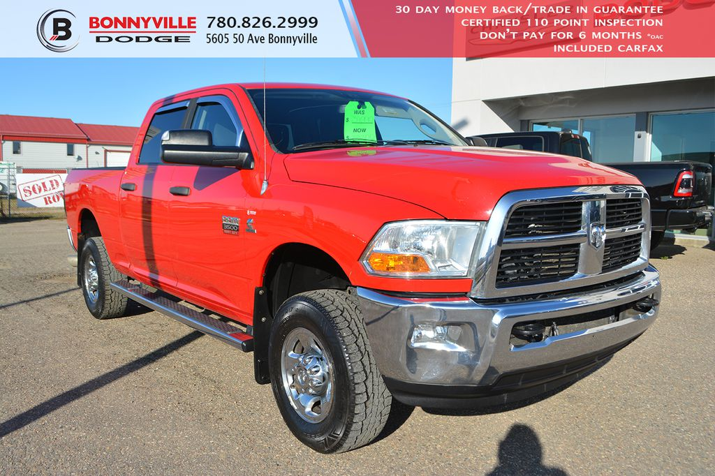 Pre-Owned 2012 Ram 3500 SLT- Remote Start, DVD,