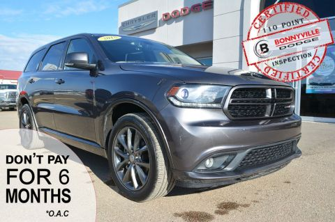 Pre-Owned 2018 Dodge Durango GT- ONLY 35,000 KMS, GREAT CONDITION, LEATHER, SUNROOF