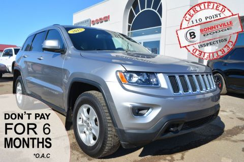 Pre-Owned 2015 Jeep Grand Cherokee LAREDO- Under 80,000 kms, Heated Front Seats, Great passenger and cargo space