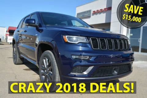 Pre-Owned 2018 Jeep Grand Cherokee OVERLAND- 2018 BLOWOUT SAVE $15,000