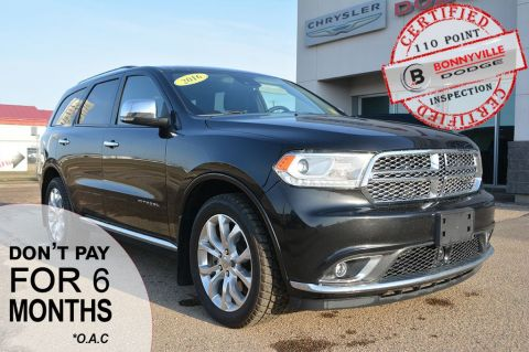 Pre-Owned 2016 Dodge Durango CITADEL- ONLY 73,000 KMS, LEATHER, NAVIGATION, SUNROOF