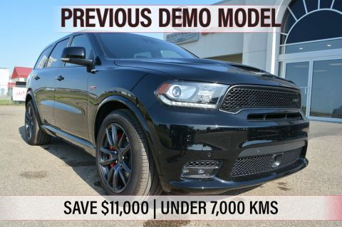 Pre-Owned 2018 Dodge Durango SRT- PREVIOUS DEMO, SAVE $11,000, ONLY 6,200 KMS