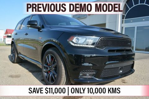 Pre-Owned 2018 Dodge Durango SRT- PREVIOUS DEMO, SAVE $11,000, ONLY 10,000 KMS