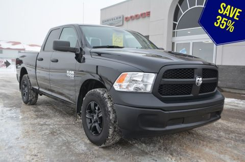 New 2019 Ram 1500 Classic QUAD 4X4 ST- Classic Clearance Save 35% Four Wheel Drive 4 Door Pickup