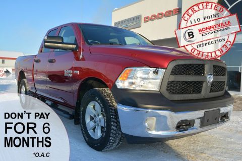Pre-Owned 2013 Ram 1500 ST- 5.7 HEMI ENGINE, BOX LINER, UNDER 40,000 KMS