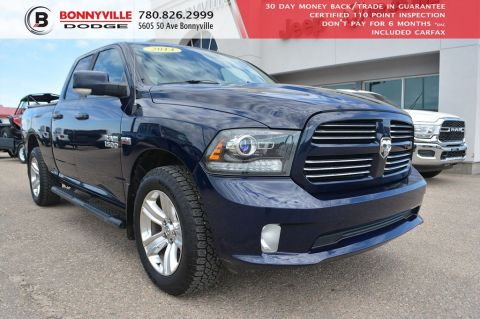 Pre-Owned 2014 Ram 1500 SPORT- REMOTE START, BACK UP CAMERA, TONNEAU COVER