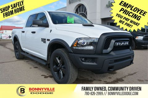 New 2020 Ram 1500 Classic CREW 4X4 SLT Warlock Four Wheel Drive 4 Door Pickup