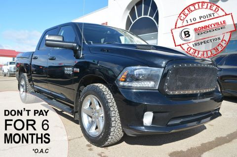 Pre-Owned 2015 Ram 1500 SPORT- TONNEAU COVER, LEATHER, SUNROOF
