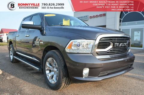Pre-Owned 2016 Ram 1500 LIMITED- LEATHER, TONNEAU COVER, NAVIGATION