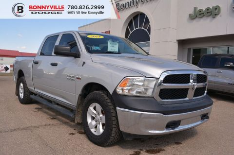 2014 Ram 1500 ST- 6 Passenger Seating, Tonneau Cover, Bluetooth
