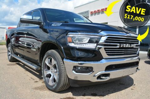 New 2019 Ram 1500 CREW 4X4 LARAMIE- SAVE $17,000