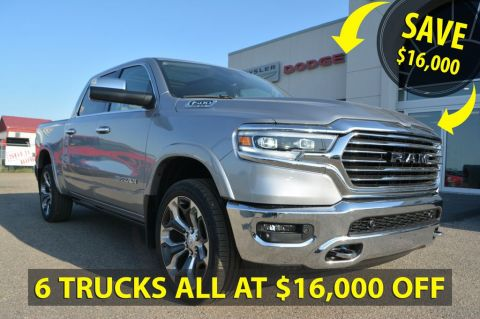 New 2019 Ram 1500 Laramie Longhorn- SAVE $16,000