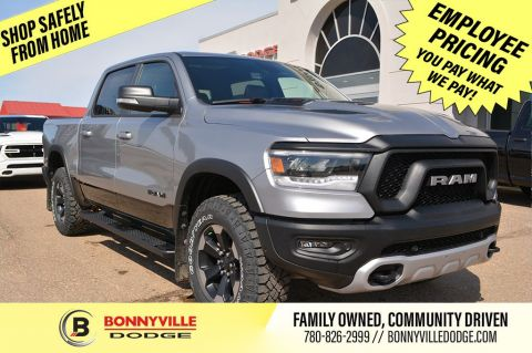 New 2020 Ram 1500 REBEL- DIESEL, 0% FOR 7 YEARS Four Wheel Drive 4 Door Pickup