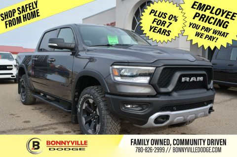 2020 Ram 1500 REBEL- 0% FOR 7 YEARS