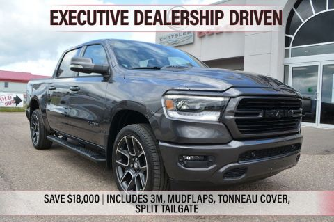 2019 Ram 1500 SPORT- Executive Dealership Driven , UNDER 5,000 KMS, SAVE $18,000