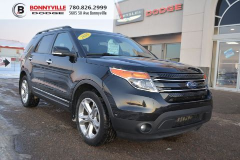 2015 FORD EXPLORER LIMITED- Leather, Sunroof, Navigation