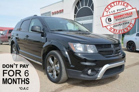 Pre-Owned 2014 Dodge Journey CROSSROAD- LEATHER, BACKUP CAMERA, REMOTE START