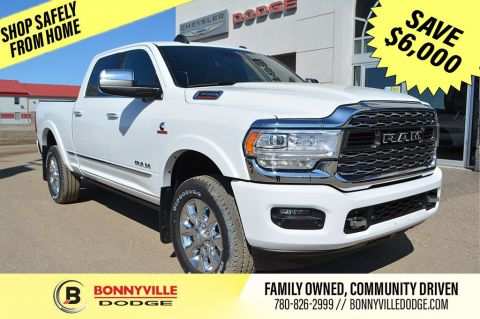 New 2020 Ram 3500 LIMITED With Navigation