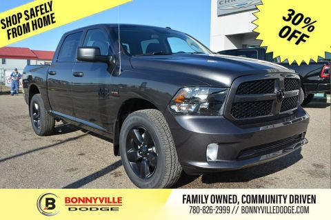 2019 Ram 1500 Classic ST Express- Black Appearance Group